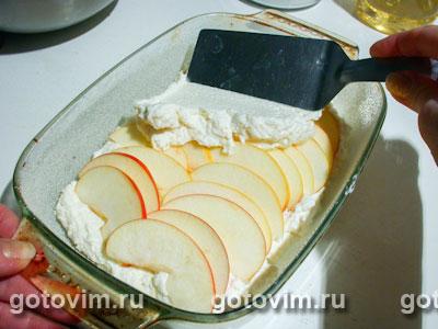 Творожная запеканка с яблоками, Шаг 05