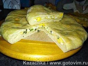 Заварное дрожжевое тесто (для пирогов и пирожков)