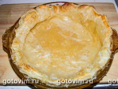 Пирог с заварным кремом, Шаг 01