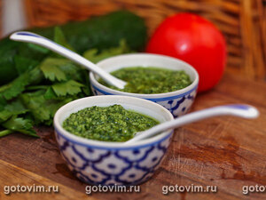 Зеленый соус (mojo verde)