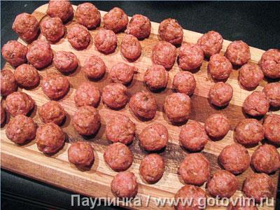 Жареные макароны с фрикадельками, Шаг 02
