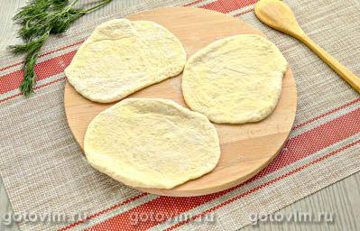 Жареные пирожки с капустой