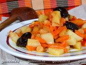 Цимес морковный