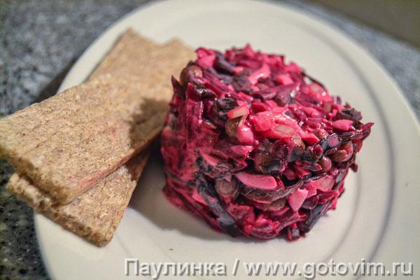 Рецепты зимних салатов из капусты фото