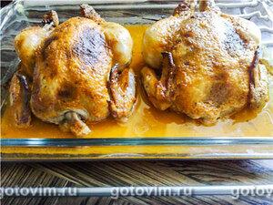 Цыплята, фаршированные под кожу