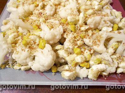 Фотография рецепта Цветная капуста по-польски