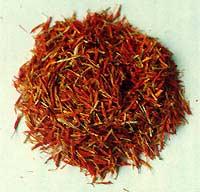 Рыльца шафрана