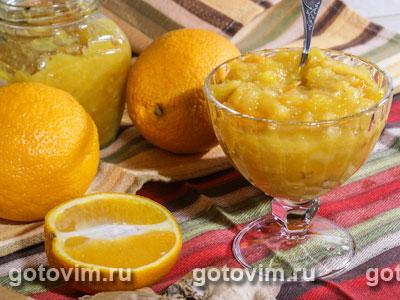 Апельсиновое варенье с имбирем. Фото-рецепт