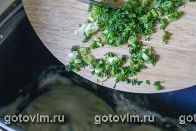 Багеты с зеленью