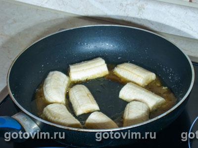 Бананы в карамели
