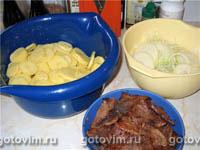 Бифф по моряцки' от Bettan (Говядина с картошкой в пиве)