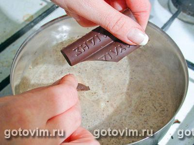 Блины с орехово шоколадной начинкой