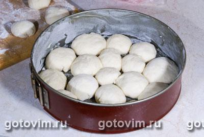 Булочки из сметанного теста (для хлебопечки)