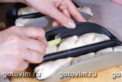 Чесночный багет (рецепт для хлебопечки)