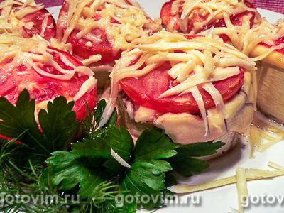 Кабачки, фаршированные мясом. Фото-рецепт