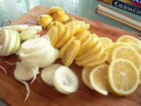 Индоутка с лимонами