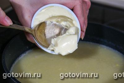 Картофельный суп пюре с сыром