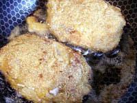 Кармашки из свинины с ананасами и хреном