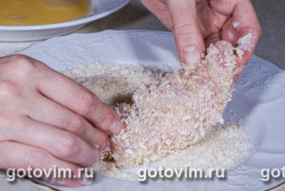 Рулетики из куриной грудки с сыром бри