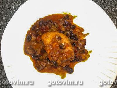 Курица по восточно африкански