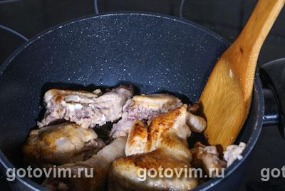 Курица с розмарином и черносливом