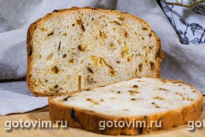 Луковый хлеб (в хлебопечке)