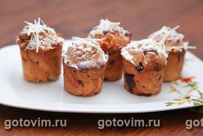 Малиновый кекс. Фото-рецепт