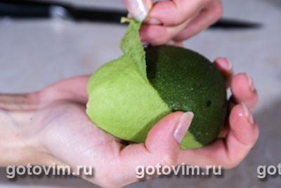 Куриная грудка с авокадо