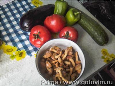 Мясо в фольге с овощами