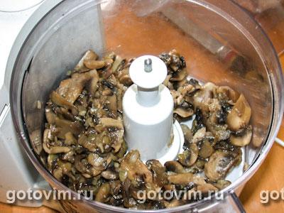 Мясо в грибном соусе