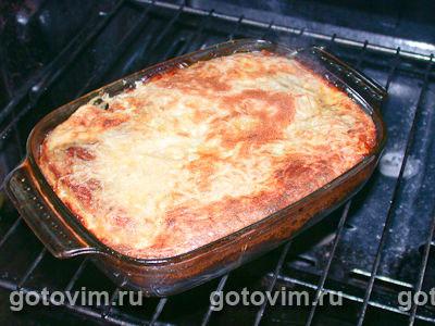 Мясо с картофельным суфле
