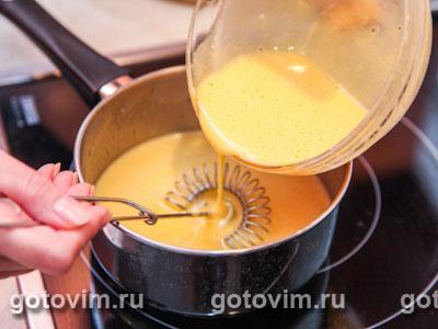 Меренги с лимонным кремом