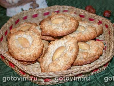 Миндальное печенье (almendrados)