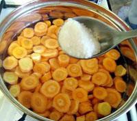 Морковный суп с грибами