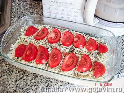 Пирог наливной с сыром