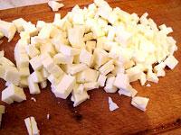 Окорочка, фаршированные перцем и сыром