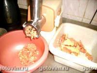 Фаршированные грибами окорочка