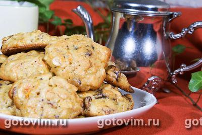 Овсяное печенье с коричневым сахаром brown&white