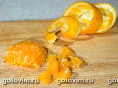 Панна котта с апельсинами