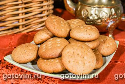 Мягкое медовое печенье. Фото-рецепт