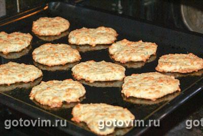 Сырное печенье с зеленью