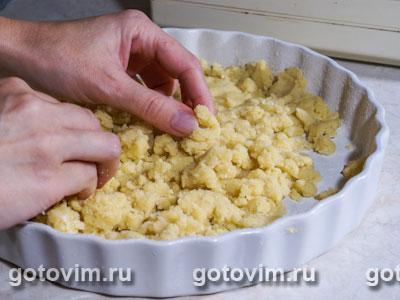 Пирог с апельсиновым вареньем