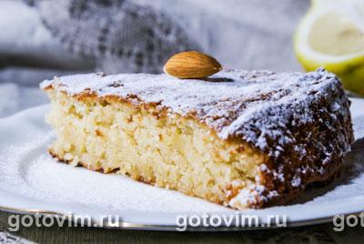 Миндальный пирог. Фото-рецепт