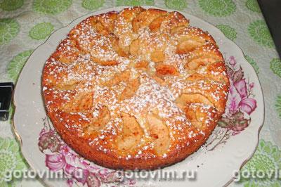 пирог на простокваше в духовке рецепт с фото