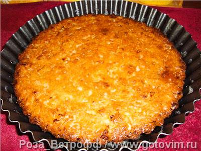 Пирог из сырой капусты