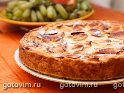 Цветаевский яблочный пирог. Фото-рецепт