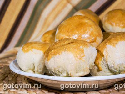 Пирожки с белыми грибами и картофелем