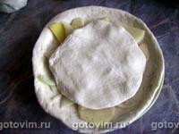 Постные лепешки с сырым картофелем