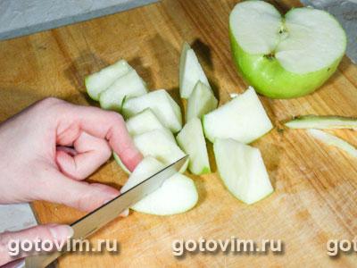 Почки с яблоками в сидре