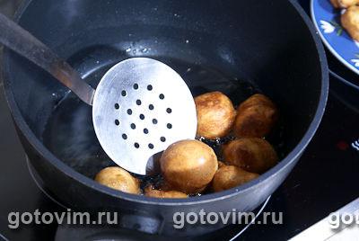 Пончики с медом